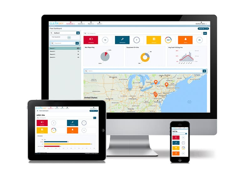ClearSky-Telematics-Portal