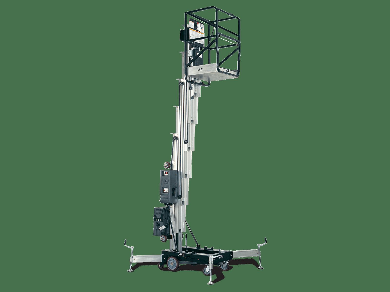 25am push around vertical mast lift